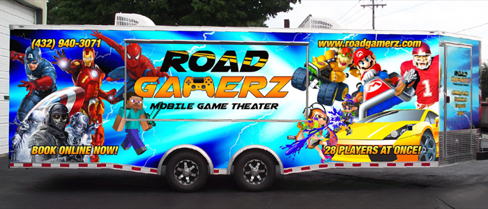 Road Gamerz Mobile Game Theater...